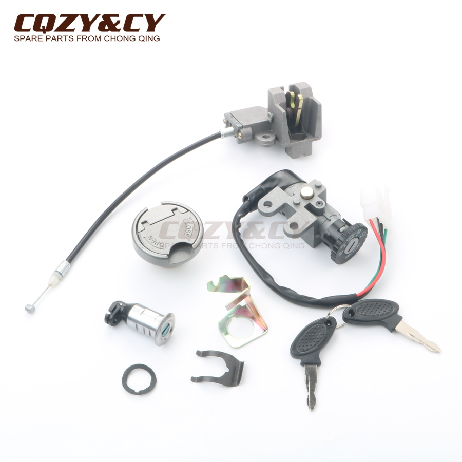 Scooter Ignition Lock & Key Set For TAOTAO ATM50-A-A1 4-stroke