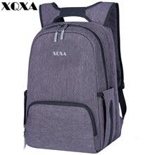 XQXA Designer Baby Windel Tasche Rucksack Große Kapazität Laptop Rucksäcke Mutter Rucksack Organizer Wasserdicht Reise Wickeltisch