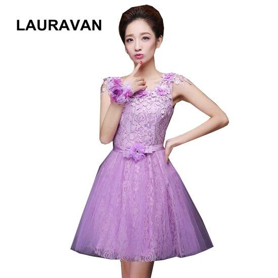 414589180 Lavanda dama de honor bonita luz púrpura vestido bridemaids hermosos  vestidos de fiesta vestido de bola para los adolescentes menores 50 envío  libre en ...