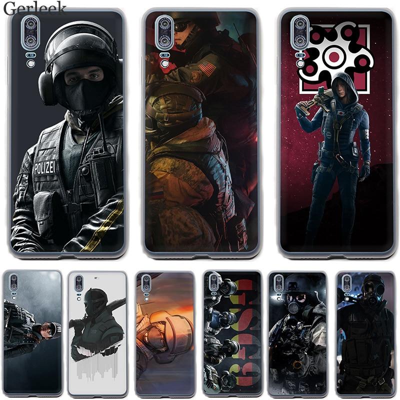 Case Cover Voor Huawei P9 P8 P10 P20 Lite Plus Pro Mini P Smart Voltron Regenboog Zes Siege Yugioh Hard Pc Cover