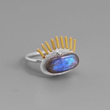 Labradorite Fine Jewelry Hanmade Ring3