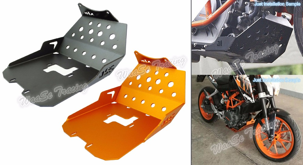 waase Lower Belly Fairing Panel Cover Guard Shield For KTM Duke 250 2015 2016 / Duke 390 2013 2014 2015 2016 for ktm duke 125 200 390 2013 2016 motorcycle cnc windshield windscreen upper headlight top mount cover panel fairing screen