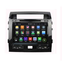 9 Inch Android 4 4 4 Dual Quad Core Car DVD Player For TOYOTA For LAND