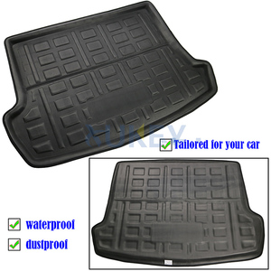 Image 2 - For Volkswagen VW T Roc T ROC TRoc 2017 2018 2019 Boot Liner Cargo Tray Trunk Liner Mat Floor Carpet Luggage Tray Accessories