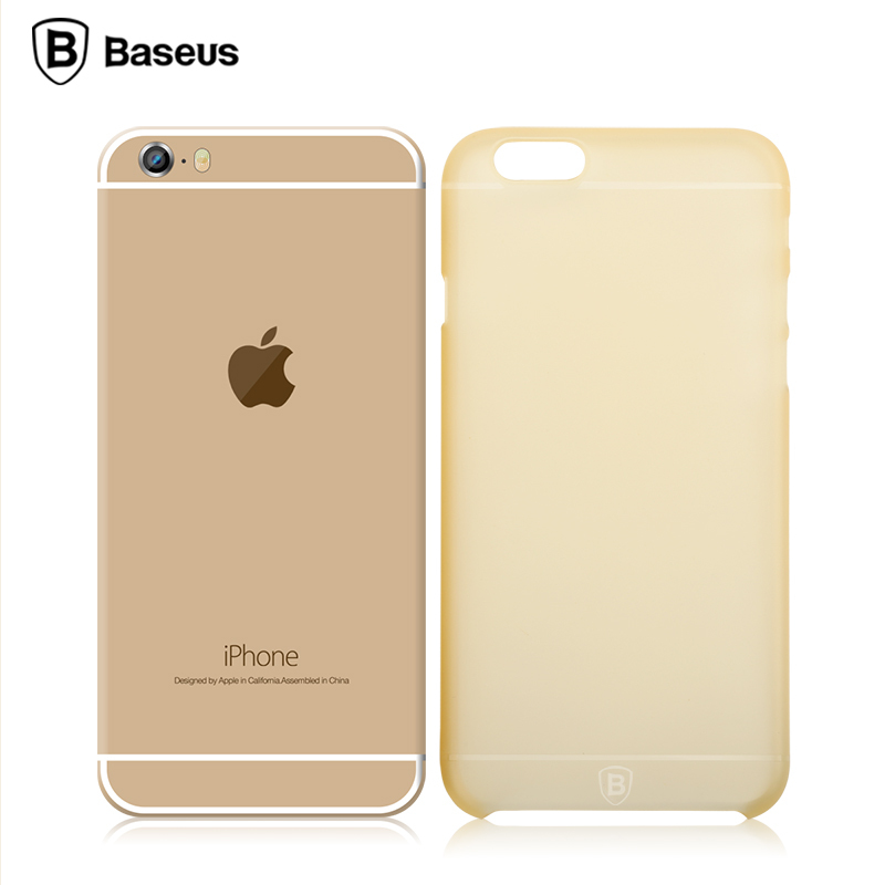 finest selection 45ccc dbef4 US $2.99 |Baseus Slim Pro Series Ultrathin texturing Case Cover For iPhone  6 on Aliexpress.com | Alibaba Group