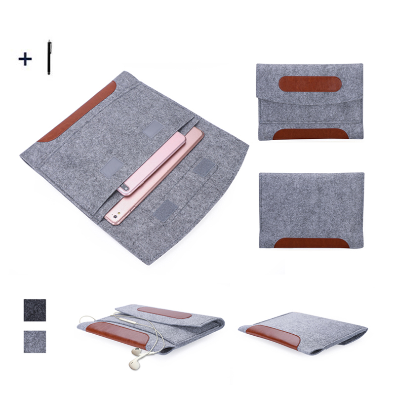 9.0 inch Universal Tablet Case For Andorid Kindle Pouch Bag For Samsung Huawei Xiaomi Cover+Stylus ...