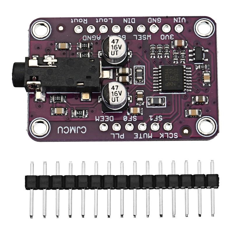 DAC Module CJMCU-1334 UDA1334A I2S DAC Audio Stereo Decoder Module Board For Arduino 3.3V - 5V