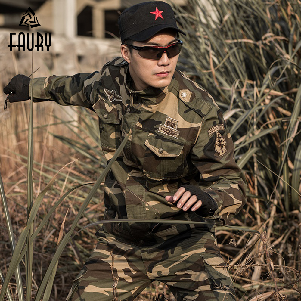 Uniforme militaire tactique Camouflage costumes ensembles Uniforme militaire CS Multicam vêtements armée Combat veste + Cargo pantalon hommes