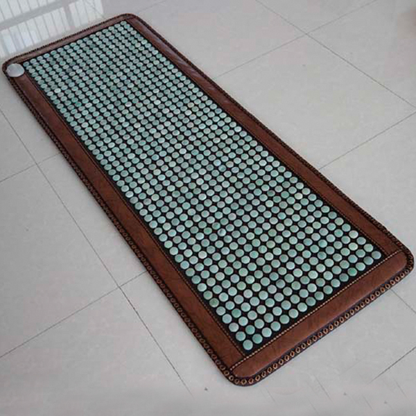 Best Selling Germanium Stone Mat Jade Stone Mattress Micro-physical Therapy, Heated Tourmaline Sofa Cushion New Free Shipping best selling korea natural jade heated cushion tourmaline health care germanium electric heating cushion physical therapy mat