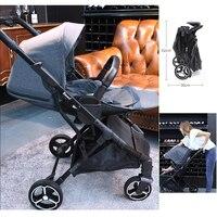 Baby Stroller Children Pram Carrage One hand folding