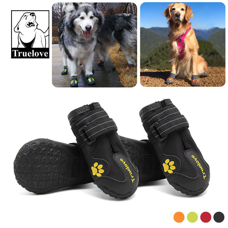 4pcs/set Pet Dog Shoes Truelove All Weather Fashion Outdoor Waterproof Dog boots 4 Colors Size 1 to Size 84pcs/set Pet Dog Shoes Truelove All Weather Fashion Outdoor Waterproof Dog boots 4 Colors Size 1 to Size 8