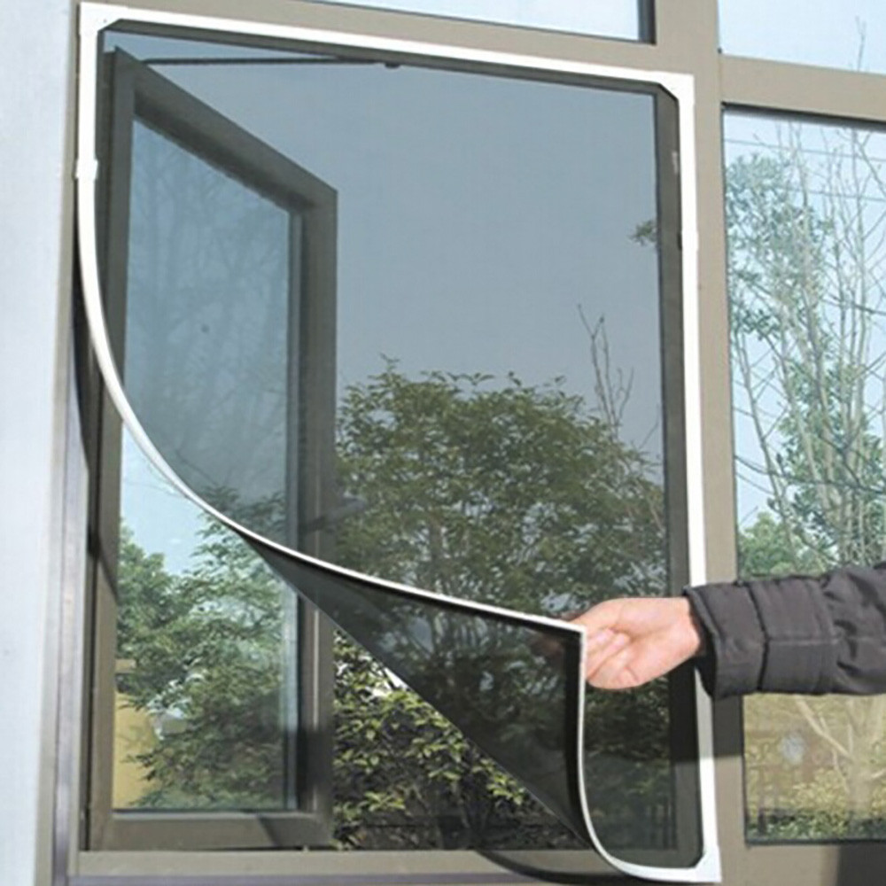 2020 New Indoor Insect Fly Screen Curtain Mesh Bug Mosquito Netting Door Window 1