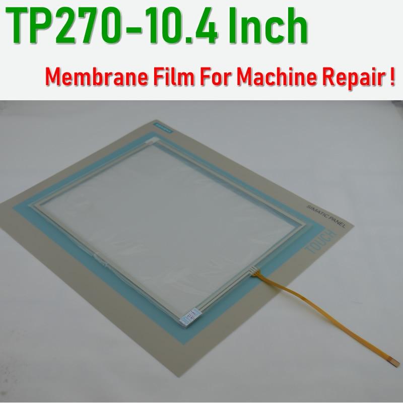 6AV6545 0CC10 0AX0 TP270 10 4 inch Membrane Film Touch Glass for SIMATIC HMI Panel repair