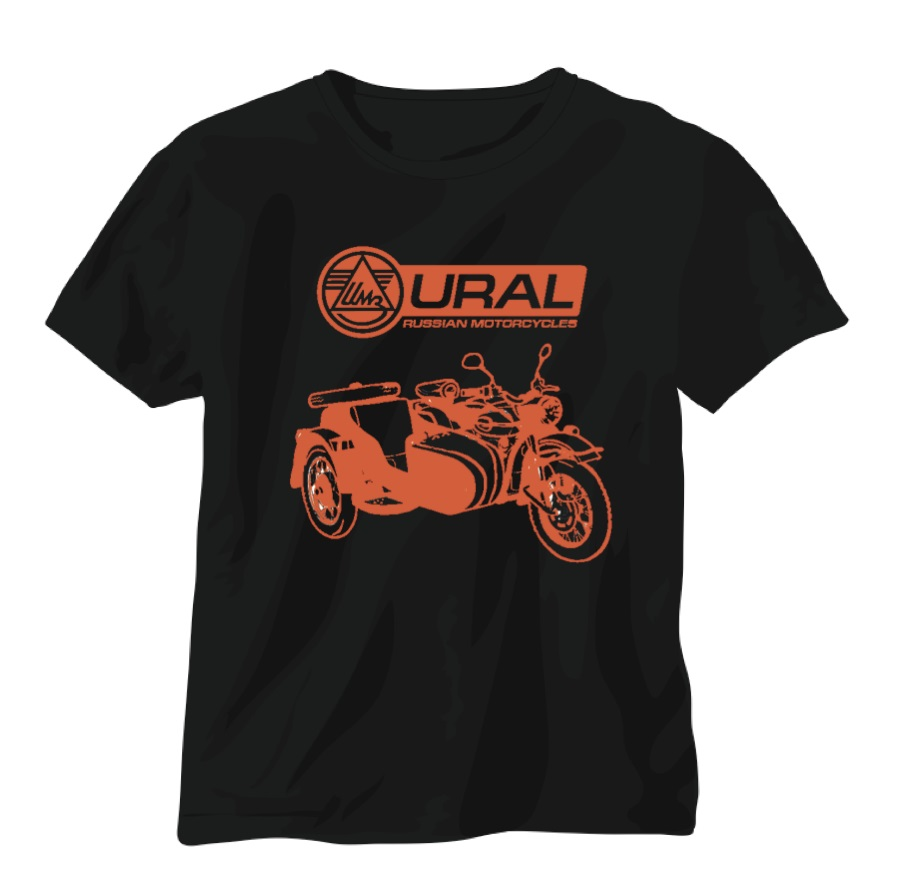 Mens Womens Unisex T shirt vintage sidecar era cool trendy motorbike