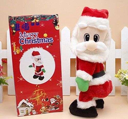 Babbo Natale Immagini Divertenti.Carino Bambini Bello Di Natale Giocattolo Elettrico Babbo Natale