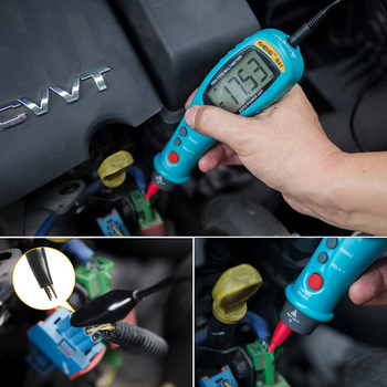 Gamma Elettrica Portatile   Nuovo Arrivo Portatile B01 Tipo Di Penna Multimetro Digitale Auto-Rang Vero RMS NCV AC/DC Tensione Contatore Elettronico Mano Portatile Strumento HR