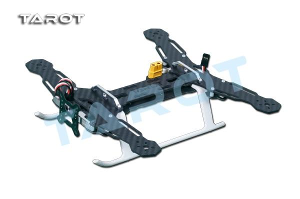 TAROT Mini 250 Carbon Metal Quad copter main frame Kit Built-in PCB board TL250A tator rc all 3k pure carbon metal octa rotor copter main frame kit iron man 1000 tl100b01