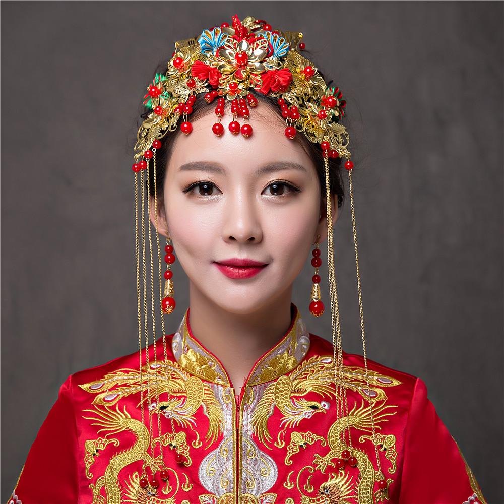 how to make chinese hair accessories