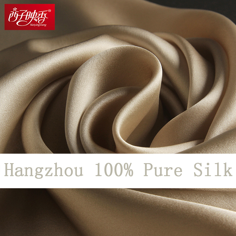 100% Naturliga Silk Scarves and Shawls Winter Women Silk Scarf 2018 Luxury Brand Ren Silk Scarf Sjal Long Muslim Real Silk Scarf