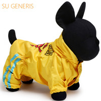 Spring And Summer Dog Coats Pet Products Waterproof And Sun Protective Dog Cats Clothing
