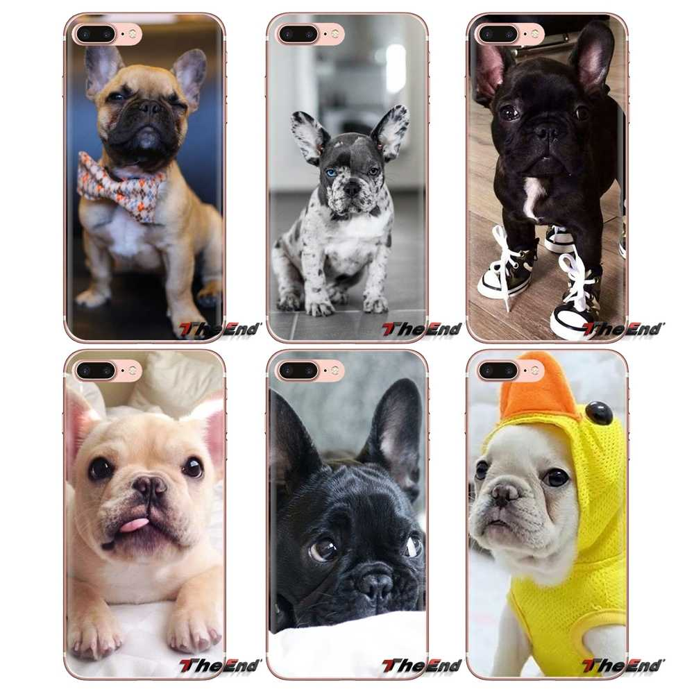 French Bulldog I Love My Dog Photo For Huawei Nova 2 3 2i 3i Y6 Y7 Y9 Prime Pro GR3 GR5 2017 2018 2019 Y5II Y6II TPU Shell Cases