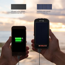 Original Tollcuudda solar power bank 10000mah double usb solar charger 5V 1A powerbank external battery charger waterproof led