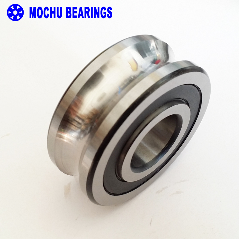 1PCS LFR5201-12NPP LFR 5201-12 NPP Track rollers double row angular contact ball bearings Gothic arch raceway groove lfr5206 20 npp groove track roller bearings lfr5206 size 25 72 25 8mm