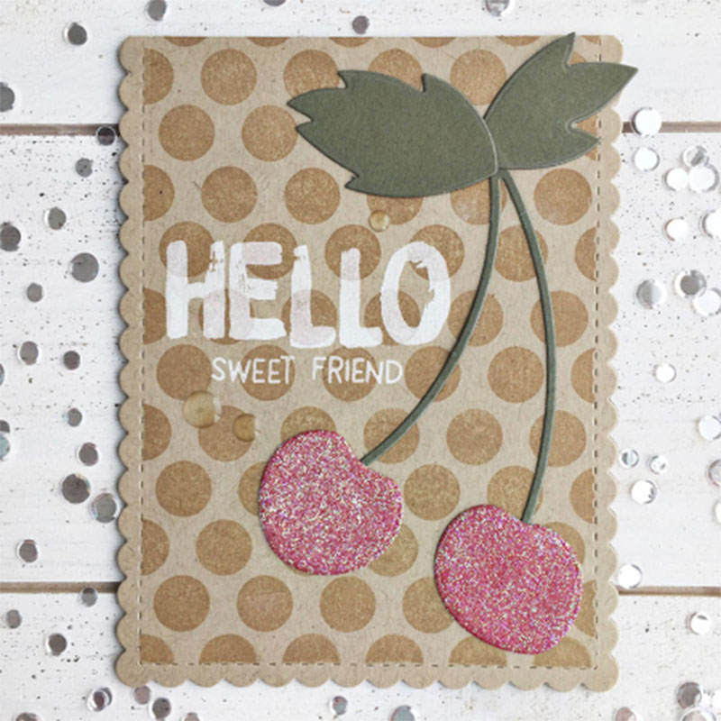 Pineapple Strawberry Watermelon Cherry Metal Cutting Dies For Scrapbooking Embossing Decorative Crafts DIY Paper Cards New 2018