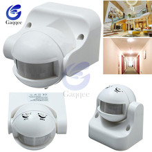 Переменный ток 220 240 В 110 в 180 градусов для наружного использования IP44, детектор безопасности, переключатель движения макс. 12 м 50 Гц 3 2000LUX