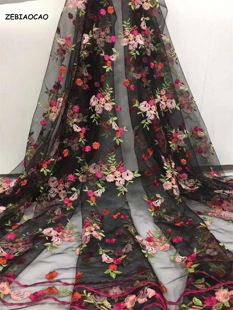 Nigeriano Tecidos Rendas De Alta Qualidade africano da Tela Do Laço 2020 Bordado Tule Francês Lace Tecido Para Vestido de Noiva frete grátis