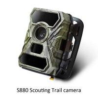 S880 정찰 트레일 카메라 스포츠 비디오 레코더 IR 감지 12MP 사진 야생 생활 동물 꽃