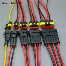 Shhworld Sea автоматический проводной соединитель 1 2 3 4 5 6 способ 1P 2P 3P 4P 5P автомобильный разъем мужской и женский водонепроницаемый Электрический разъем