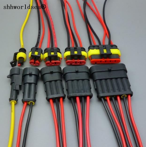 Shhworld автоматический проводной соединитель 1 2 3 4 5 6 способов 1P 2P 3P 4P 5P автомобильный соединитель мужской и женский водонепроницаемый Электрический разъем|Кабели, адаптеры и разъемы|   | АлиЭкспресс