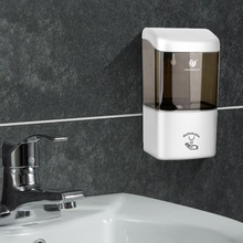 Soap Dispenser 600ml Automatic Soap Dispenser Smart ABS Foam Soap Dispenser Wall Sensor Touchless Infrared Home Kitchen Bathroom automatic foam soap dispenser intelligent infrared contactless 350ml battery powered electric soap dispenser