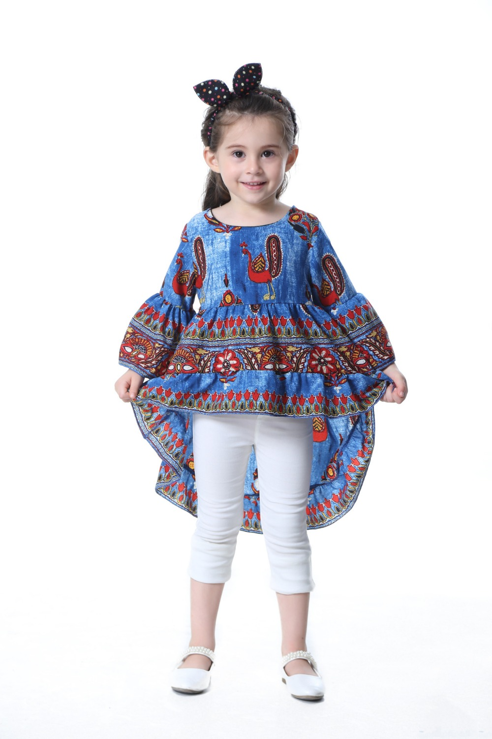 TTONCEN Fashion Autumn Baby Princess Dress Cartoon peacock fairy - Ropa de ninos - foto 5