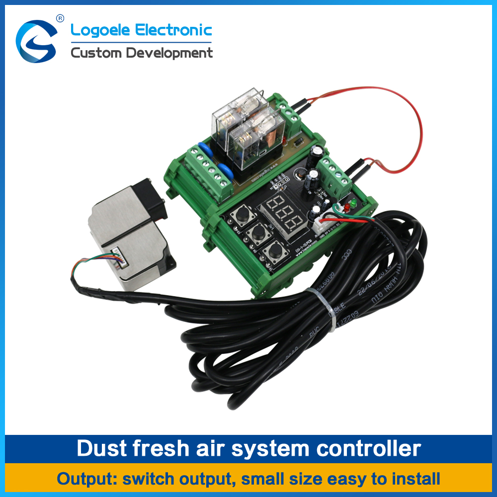 High quality Laser dust sensor module PM2.5 Fresh air system Excessive control Intelligent alarm Free shipping small spot high quality glass lens 10mw 650nm red laser module point aiming laser lamp