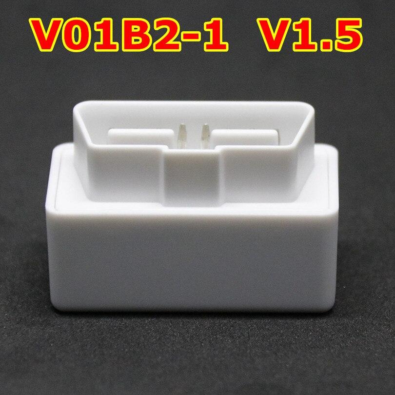 OBD2 Interface De Diagnostic Bluetooth Version V1.5 elm327 OBD Machine De Diagnostic OBDII Protocole Scanner Code Reader pour Android