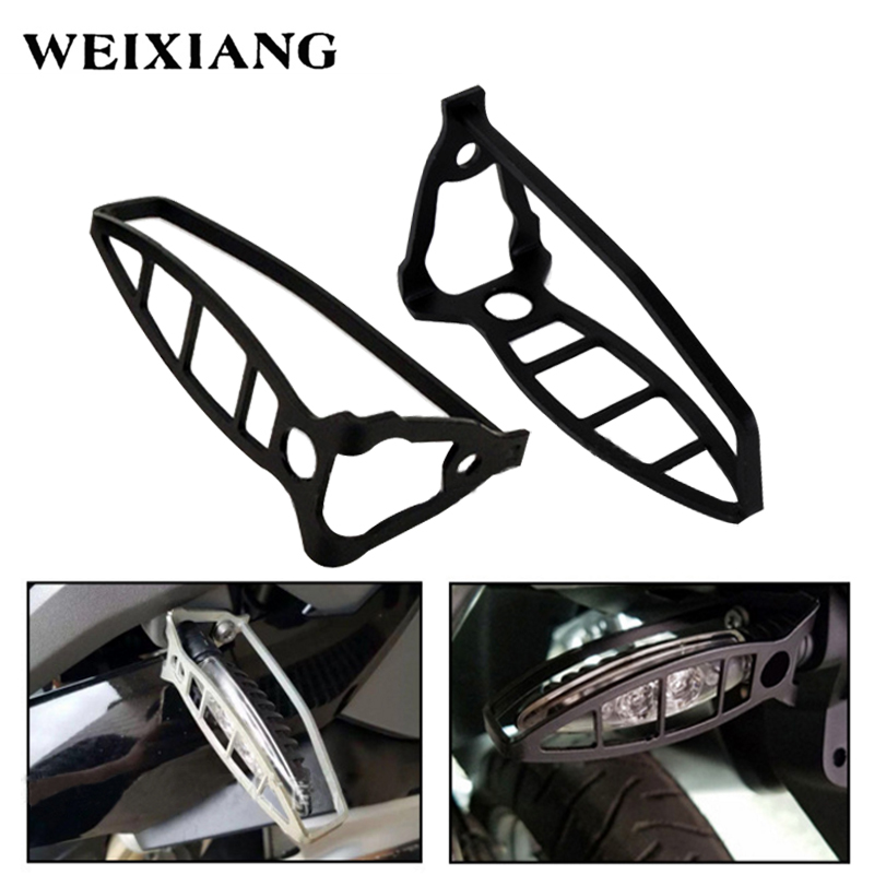 Motorcycle Modified LED Steering Lamp Protection Cover Turn Signal Light Protection Framework For BMW F700/F800/S1000/R1200GS