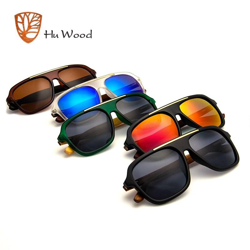 5e3bd57c9fe Aliexpress.com   Buy HU WOOD Sunglasses Bamboo Men Women Brand Designer  Glasses Mirror Sun Glasses Fashion Gafas Oculos De Sol UV400 GR8015 from  Reliable ...