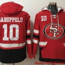 a04708060e0 Men Jimmy Garoppolo Joe Montana Reuben Foster NaVorro Bowman Stitched Pullover  49ers Football Hoodies(China