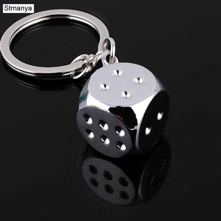 Новый креативный ключ цепочка металлическая индивидуальность кости, покер Футбол Бразилия тапочки модель сплава брелок для автомобиля брелок #17045