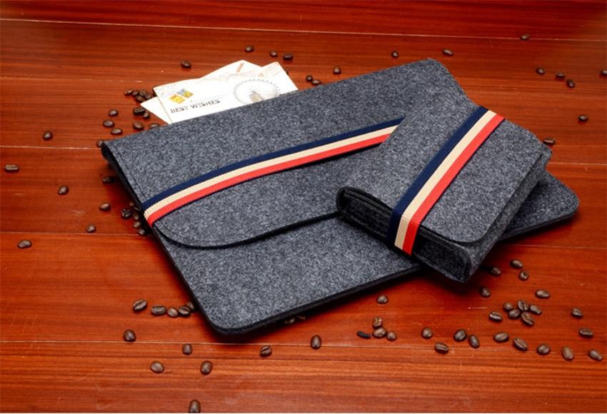Gmilli Protective Wool Felt Ultrabook Sleeve Väska Väska Väska - Laptop-tillbehör - Foto 2