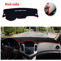 Avoid Light Pad Instrument Platform Desk Cover Mats Car Dashboard Shading Pad Carpets For Chevrolet Cruze