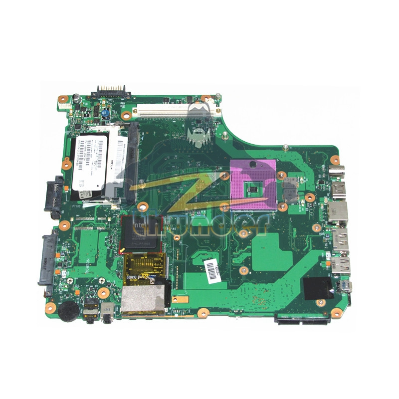 V000126450 for toshiba satellite A305 laptop motherboard gm45 ddr3 with graphics slot sps v000126450 for toshiba satellite a300 a305 laptop motherboard gm45 ddr2 with graphics slot mainboard