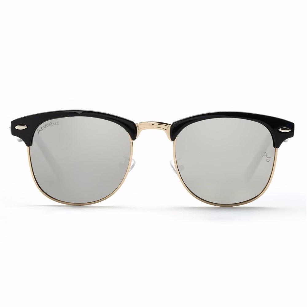 AEVOGUE Polarized Sunglasses Lelaki Retro Rivet High Quality Polaroid - Aksesori pakaian - Foto 6