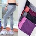 2016 Novas Mulheres Da Moda Leggings Super Alta Elastic Leggins Patchwork Calças Legging Para A Mulher