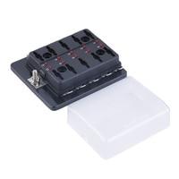 10 Way Circuit Car Automoción ATC ATO Fusible Caja Para Cubierta de La Hoja de Tamaño medio con un Botón Bien Adaptado Envío gratis