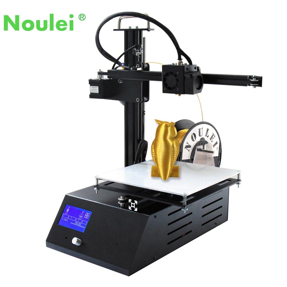 2018 imprimante 3D nouveau TS9 métal pas cher 3 D kit de bricolage grande taille d'impression 205*205*200mm avec 50g PLA Filaments