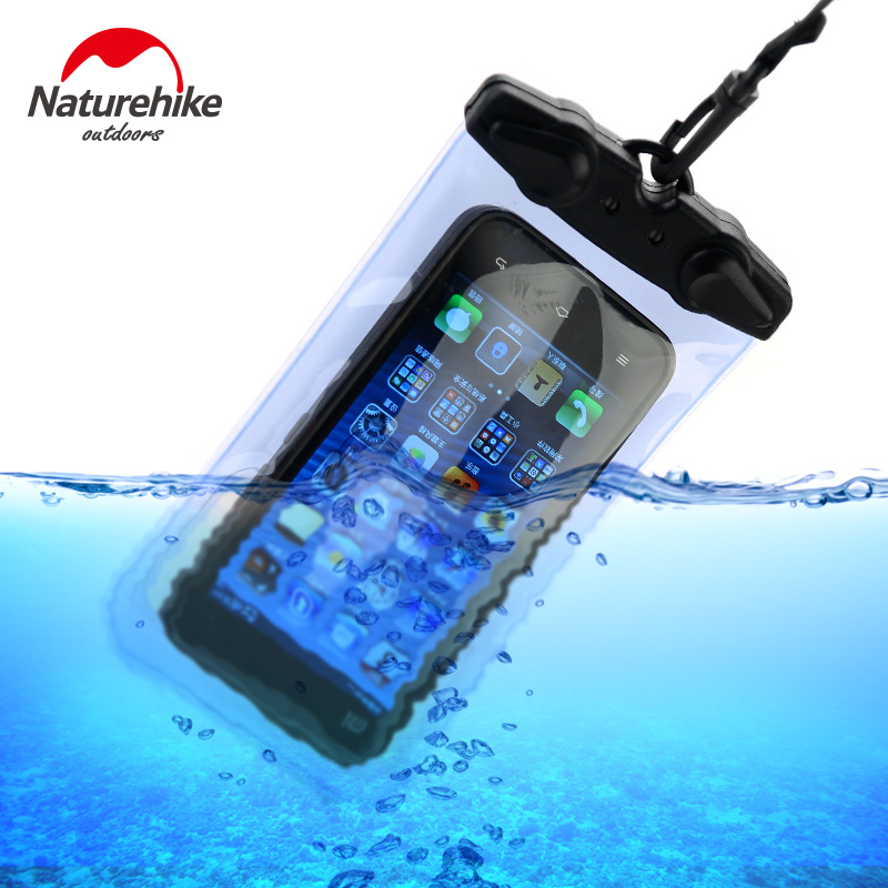 Naturehike Waterproof Phone Case PVC Bag Case Pouch Phone Cases For IPhone/Samsung/millet/huawei/meizu/HTC/XIAOMI Swimming Bag