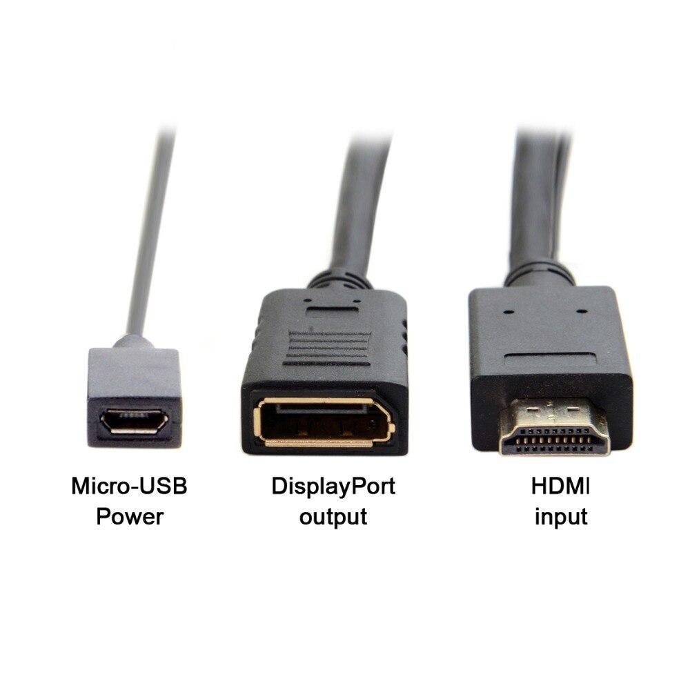 20cm Hdmi Source To Female Display Port Displayport Dp